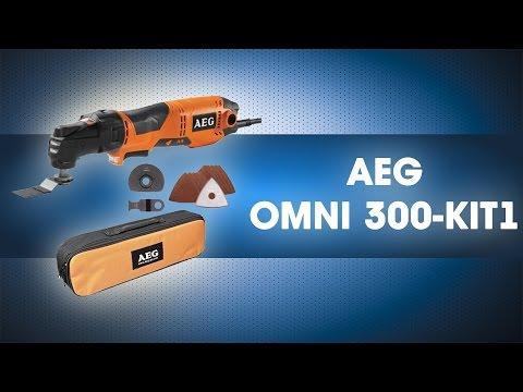 Многофункциональный инструмент 300 Вт, OMNI 300 KIT1, AEG, 431790