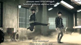 EXO-K - Machine (머신) Turkish Sub & Romanization Lyrics