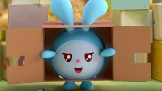 Малышарики  - Робот - серия 57 -  обучающие мультфильмы для малышей 0-4