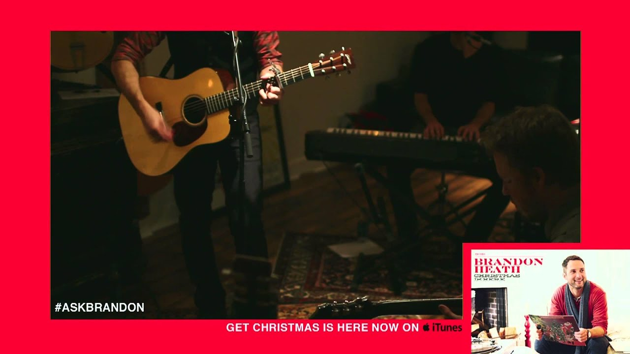 Brandon Heath - Night Before Christmas - Live
