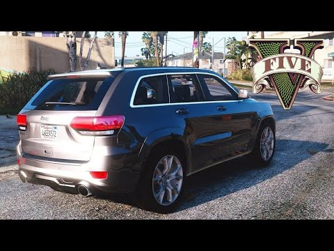 Gta V Jeep Grand Cherokee Youtube