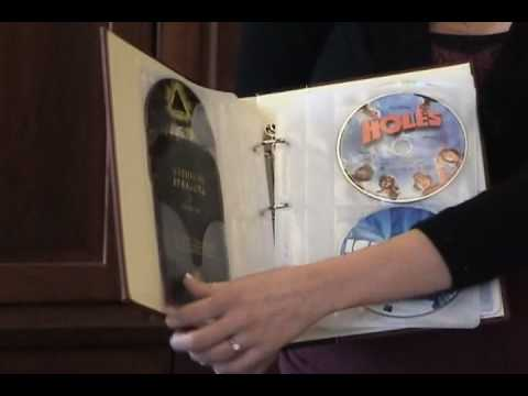 Attirant CD DVD Storage Binder To Organize Your CD / DVD