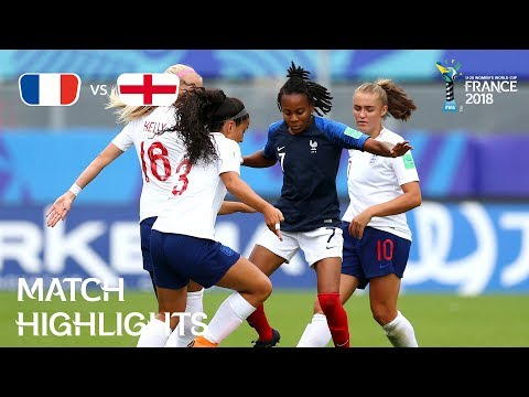 France v England - FIFA U-20 Women's World Cup France 2018 - Match 31 thumbnail