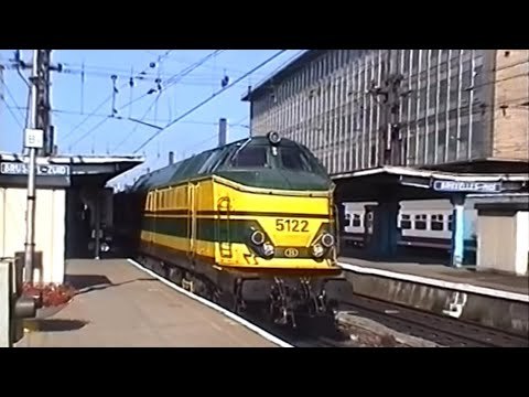 NMBS/SNCB 51xx locomotives, 11th August 1997