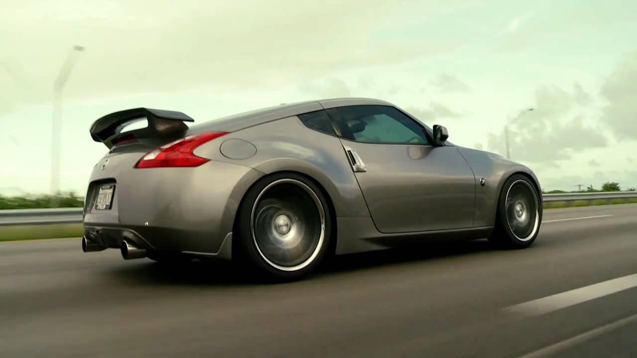 """Nissan 370z on 20"""" Vossen VVS-CV2 Concave Wheels / Rims ..."""