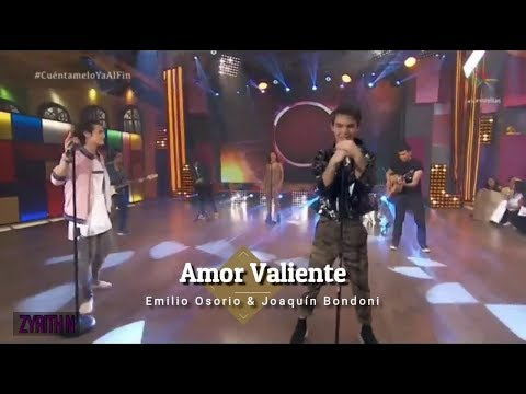 [Eng Sub] Amor Valiente - Emilio ft Joaquín