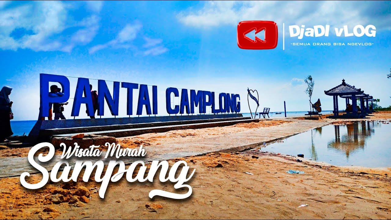 PANTAI CAMPLONG   Wisata Murah Sampang feat Laskar Lelaki