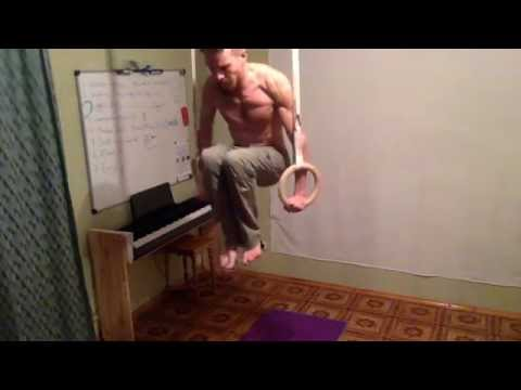 Gymnastics Rings. Installation and Usage.