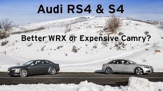Audi RS4 & S4 - Better WRX or Expensive Camry? - Everyday Driver Review