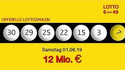 Lottozahlen 01.06.19 Lotto6aus49
