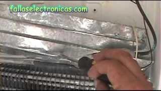Como detectar fuga de gas en nevera (freezer) y solución