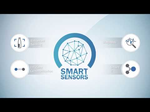 Smart Sensors from SICK supply information to make your factory Industry 4.0 Ready!