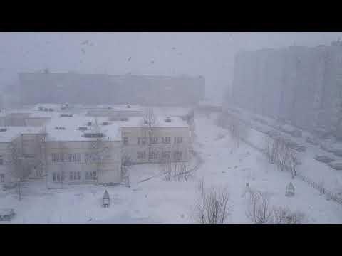 Усинск. 26 апреля. Наша любимая погода - YouTube