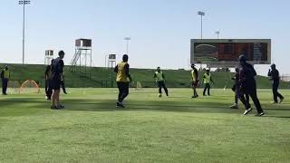 Srilanka team practice in abu dhabi stadium