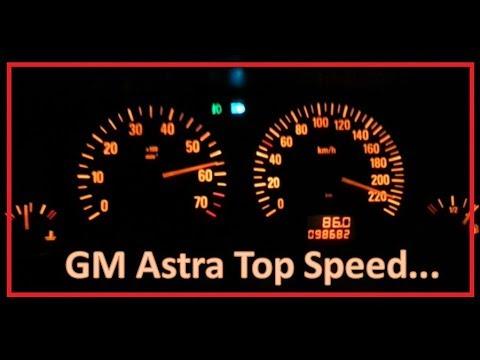 Chevrolet Astra 2.0 Flex 2005 Top Speed