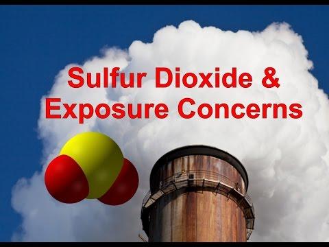 Sulfur Dioxide & Exposure Concerns
