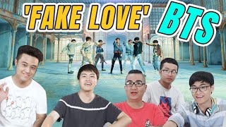 SCHANNEL REACTION: FAKE LOVE - BTS