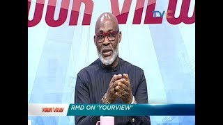 Celebrity Guest Richard Mofe Damijo RMD  Your View 24th January 2019 Full Video