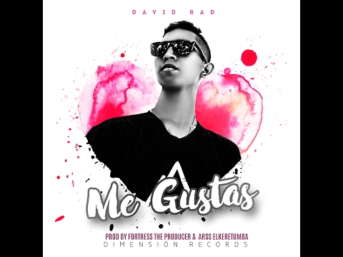 David Rad - Me Gustas ( Lyric  Vídeo  )