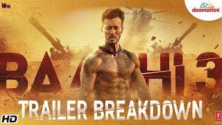 Baaghi 3 Trailer Breakdown   Tiger Shroff   Shraddha   Riteish   Sajid Nadiadwala 
