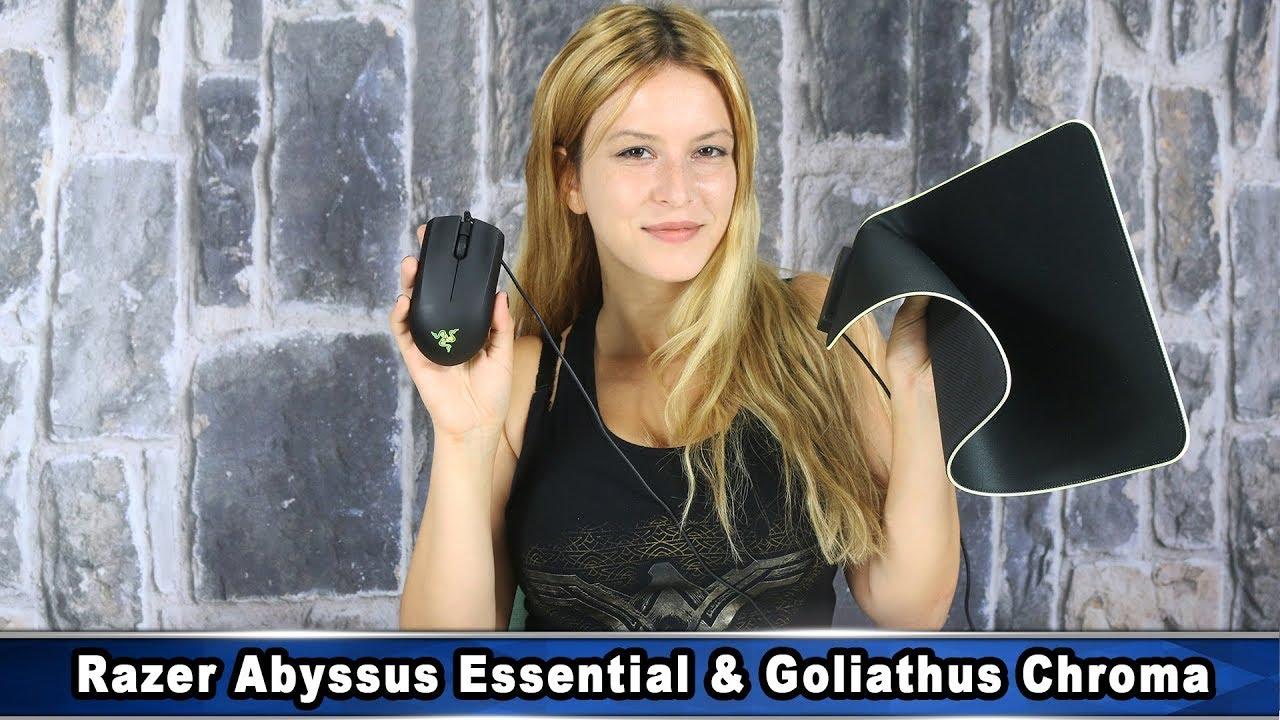 Razer Abyssus Essential Goliathus Chroma Youtube