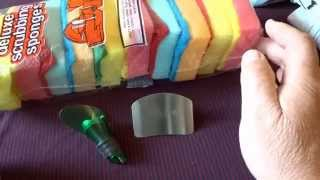 Три посылки из Китая с сайта AliExpress, полезные мелочи.(Полезные мелочи для дома.Губки для мытья посуды, ссылка:http://ali.pub/bqw5o Пробка, дозатор для бутылок:http://ali.pub/hom84..., 2015-06-29T08:54:08.000Z)