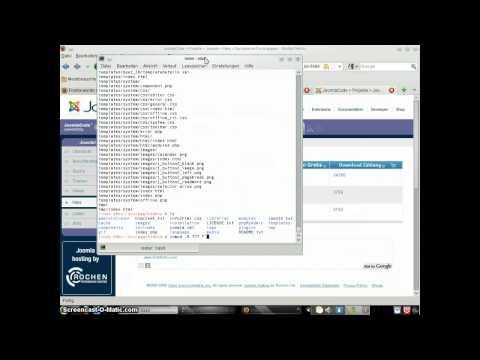 Opensuse Joomla Installation