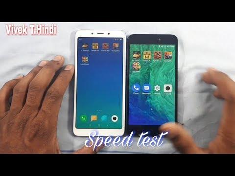 Redme Go vs Redme 6A Speed Test
