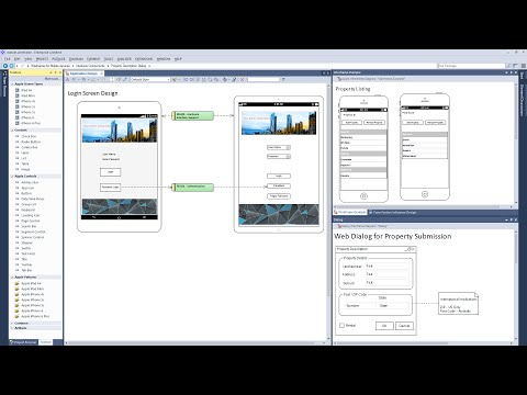 Modeling Wireframes for Mobile Apps and Web Pages