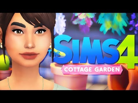 COTTAGE GARDEN STUFF 🌷    THE SIMS 4 // FAN MADE
