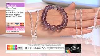 Sunstone and Tanzanite for jewellery making: JewelleryMaker LIVE 29/08/2014