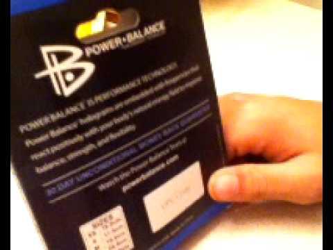 ACE Study Reveals Power Balance Bracelet to be Ineffective