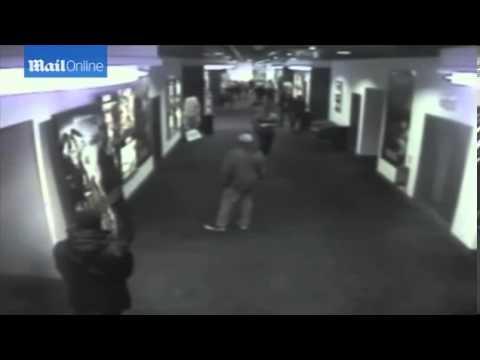 CCTV of Jamie Reynolds after he hanged teen Georgia Williams