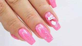 Reindeer nails art tutorial / Elisium