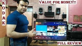 KODAK 32HDXSMART Pro Tv Full Review Value for money