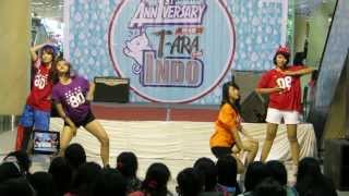 130526 queenist q4 dance cover of t ara n4 jeon won diary debut gath 1st anniv t ara for indo