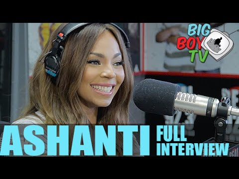 Ashanti on Ja Rule, First Lady Michelle Obama, And More! (Full Interview) | BigBoyTV