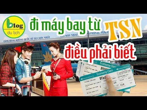 10 điều về sân bay Tân Sơn Nhất cần phải biết cho người lần đầu đi máy bay