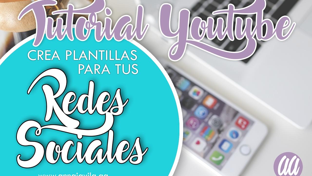 TUTORIAL PHOTOSHOP (Crea plantillas para tus redes sociales) - YouTube