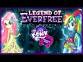 💫 MLP Equestria Girls Legend of Everfree Rainbow Dash and Fluttershy New 2016 Dress Up Games