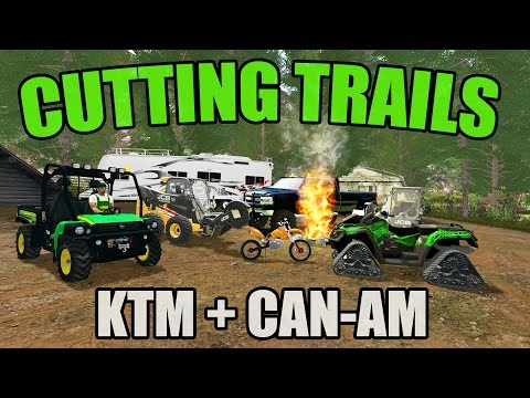 SPRING CAMPING MAP | CUTTING TRAILS + RIDING WITH KTM AND CAN AM!