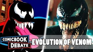 Evolution of Venom in Cartoons, Movies & TV in 7 Minutes (2018)