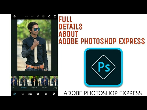 ADOBE PHOTOSHOP EXPRESS FULL USE