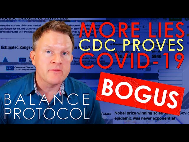 CDC Data Proves COVID19 is Bogus - MORE LIES
