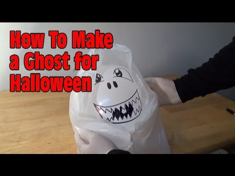 How To Make a Ghost For Halloween! - Nextraker - 동영상