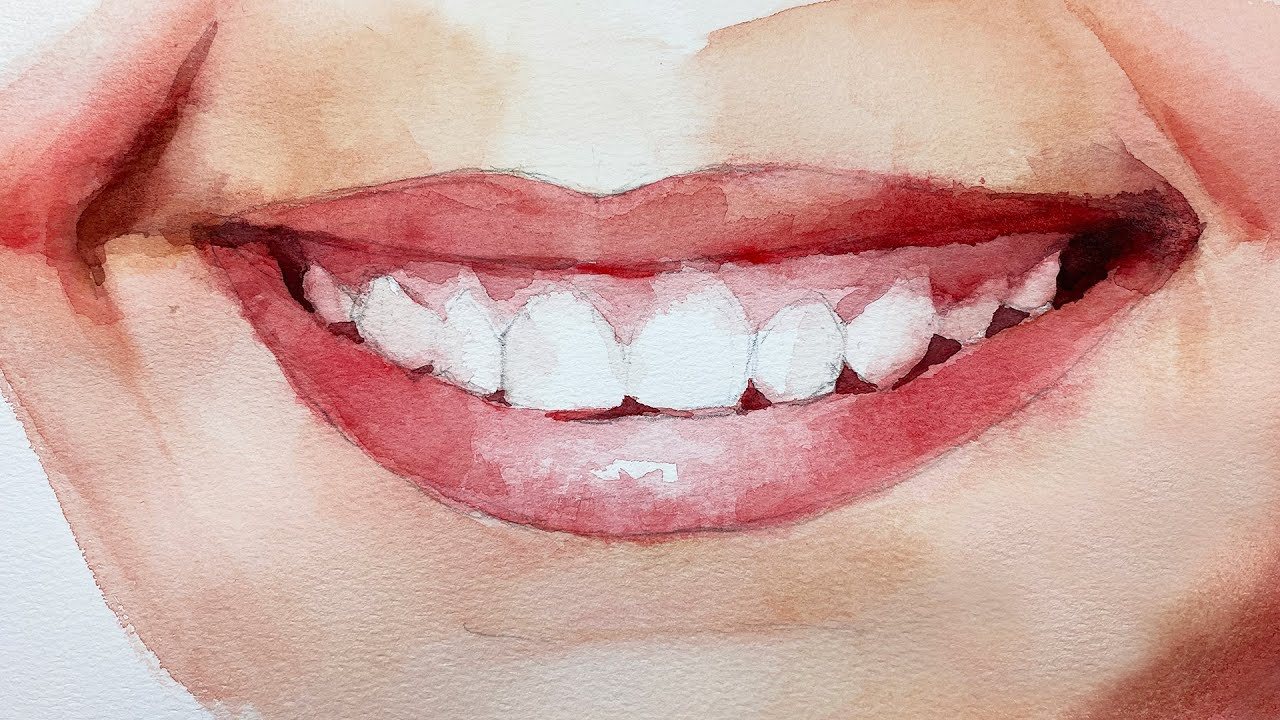 Image result for smile painting