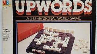 Ep. 67: Scrabble Upwords Board Game Review (MIlton Bradley 1981)
