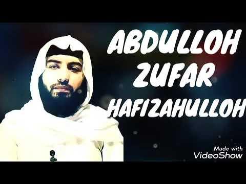 Abdullox Zufar sahobalar xayotidan