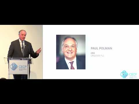 Paul Polman, CEO, Unilever PLC presents at the CEO Investor Forum, February 2018
