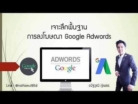 สอนลงโฆษณาGoogle Adword แบบพื้นฐานยังไงให้ยอดขายปัง!